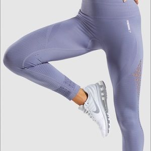 energy seem less steel blue gymshark leggings
